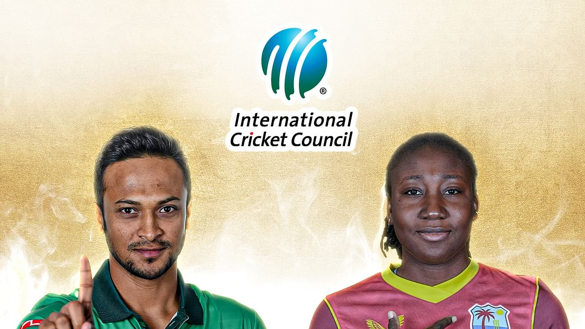 शाकिब और स्टेफनी को आईसीसी 'प्लेयर ऑफ द मंथ पुरस्कार '