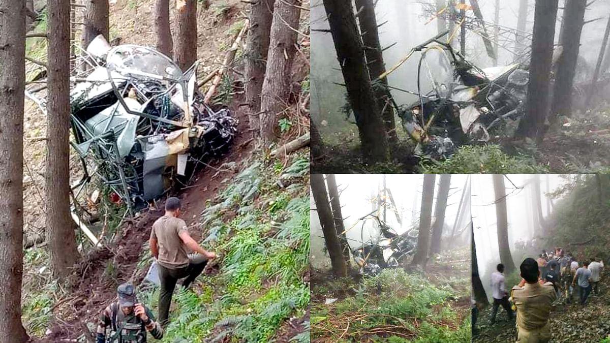 जम्मू-कश्मीर के ऊधमपुर जिले में सेना का हेलीकॉप्टर दुर्घटनाग्रस्त- 2 पायलट शहीद