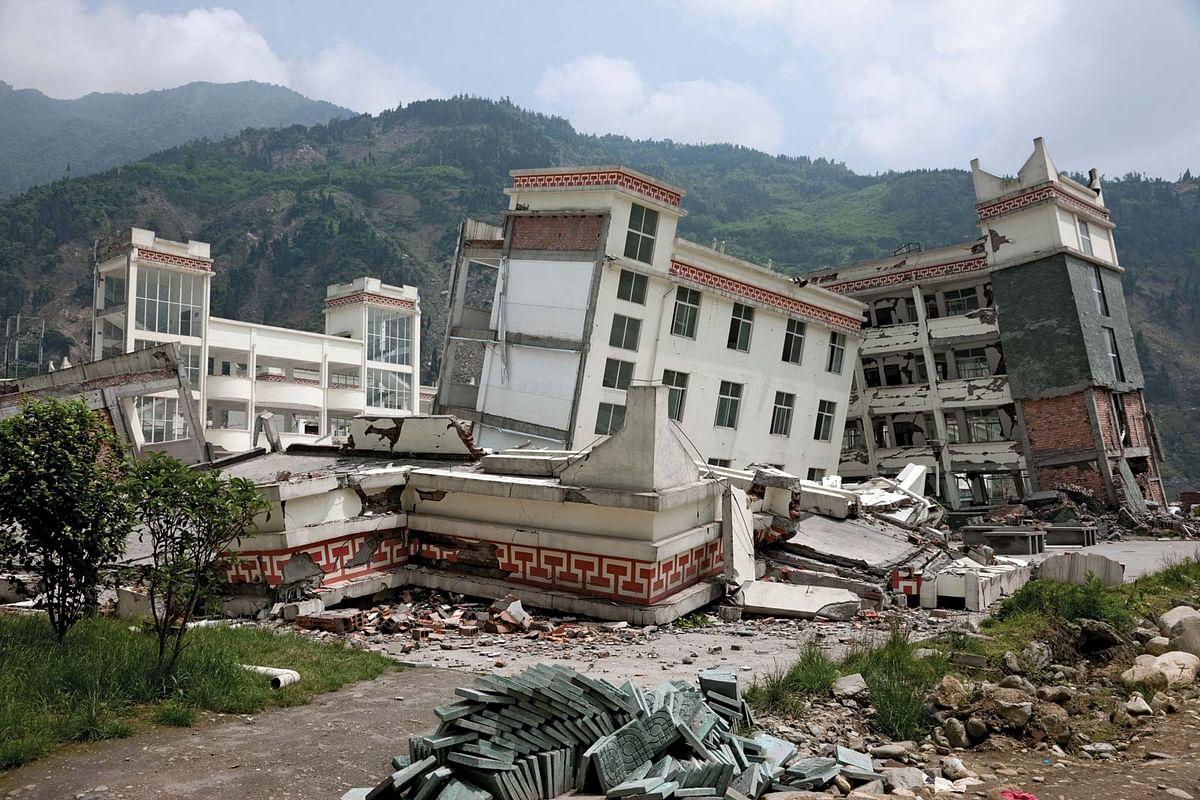 चीन में भूकंप से तीन लोगों की मौत, 60 घायल