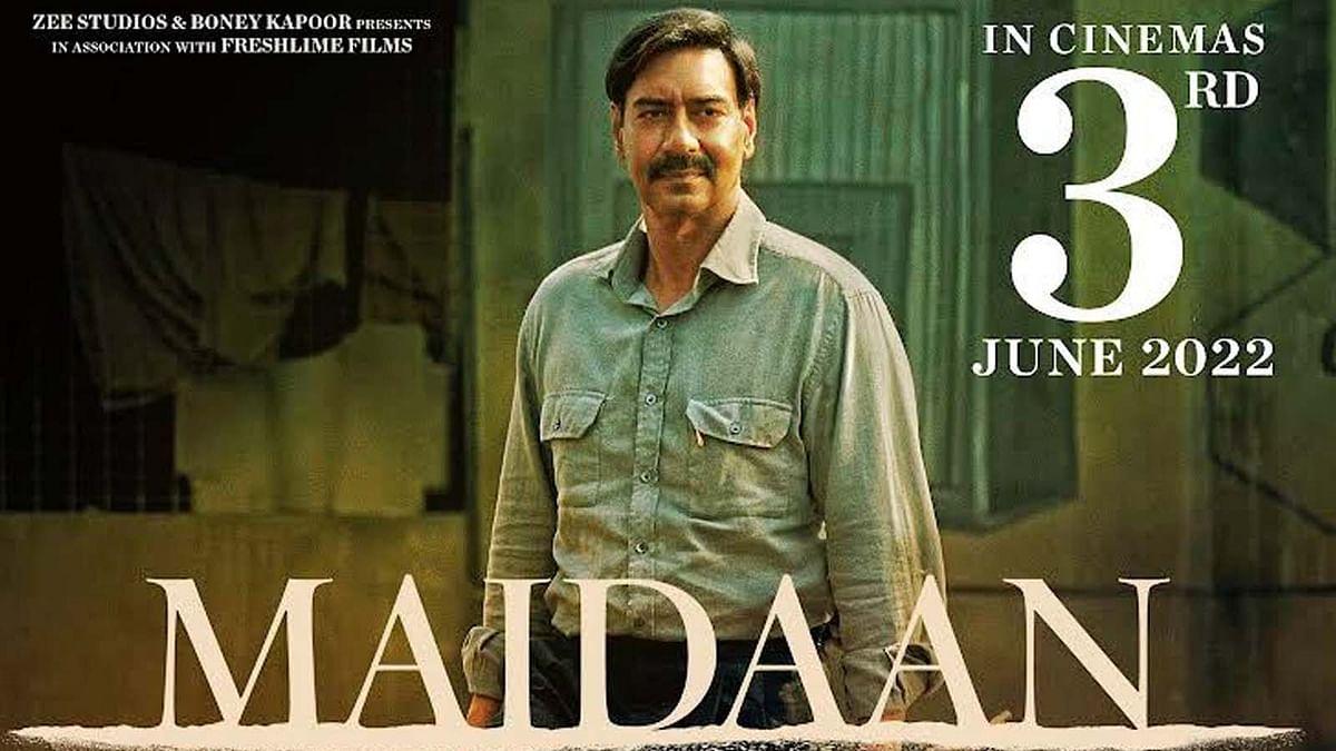 अजय देवगन की फिल्म Maidan की रिलीज डेट आई सामने, इस दिन रिलीज होगी फिल्म