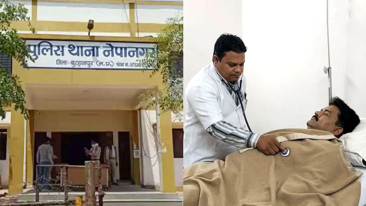Burhanpur में बदमाशों ने पुलिस टीम पर किया हमला, 3 पुलिसकर्मी घायल