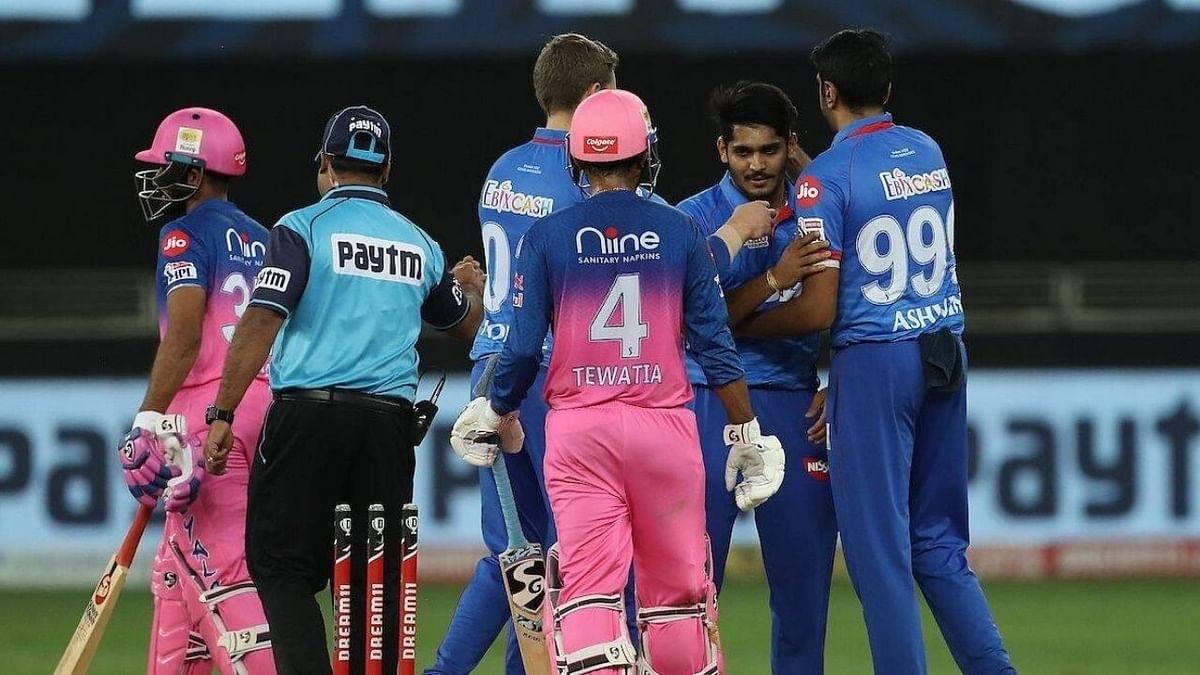 दिल्ली कैपिटल्स ने राजस्थान रॉयल्स को 33 रन से हराया