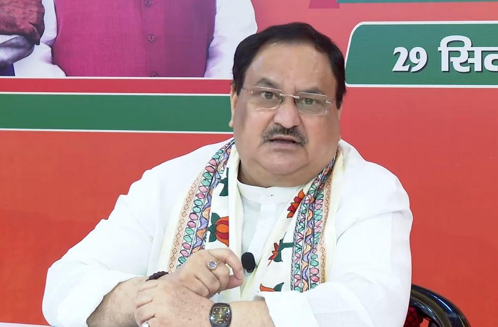 उत्तराखंड में भाजपा सरकार ने राज्य के विकास में कोई भी कसर नहीं छोड़ी है: जेपी नड्डा
