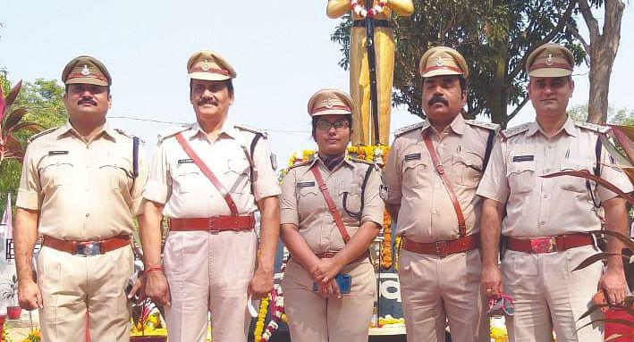 कर्मठता के आगे शोहरत और दौलत ने टेका माथा, रिटायर्ड हुए उप पुलिस अधीक्षक वी.डी. पाण्डेय