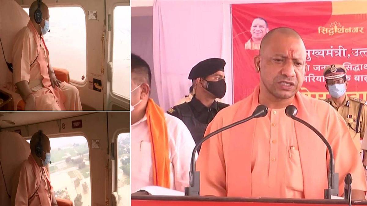 UP के CM योगी ने सिद्धार्थनगर जिले में बाढ़ ग्रस्त परिवारों के लिए किए यह बड़े ऐलान