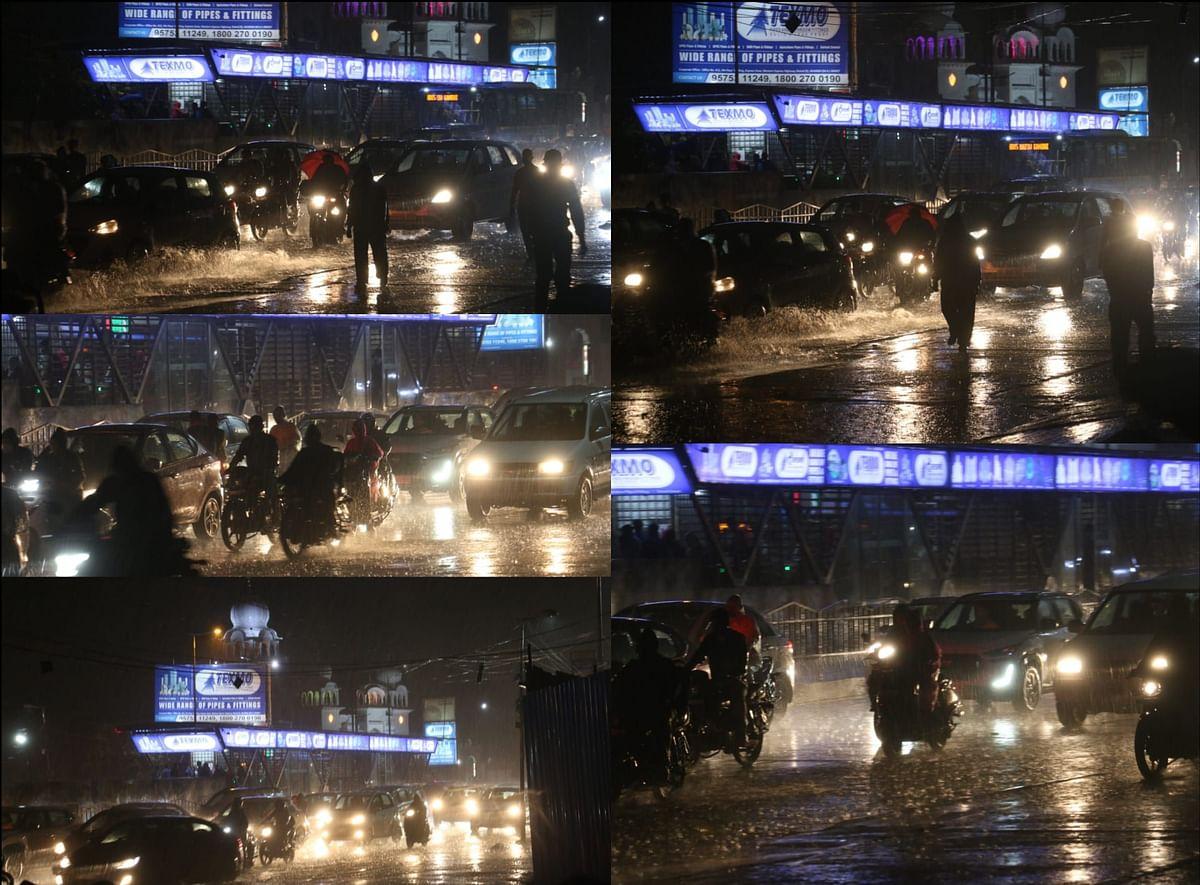 Indore : जोरदार बारिश से शहर हुआ पानी-पानी