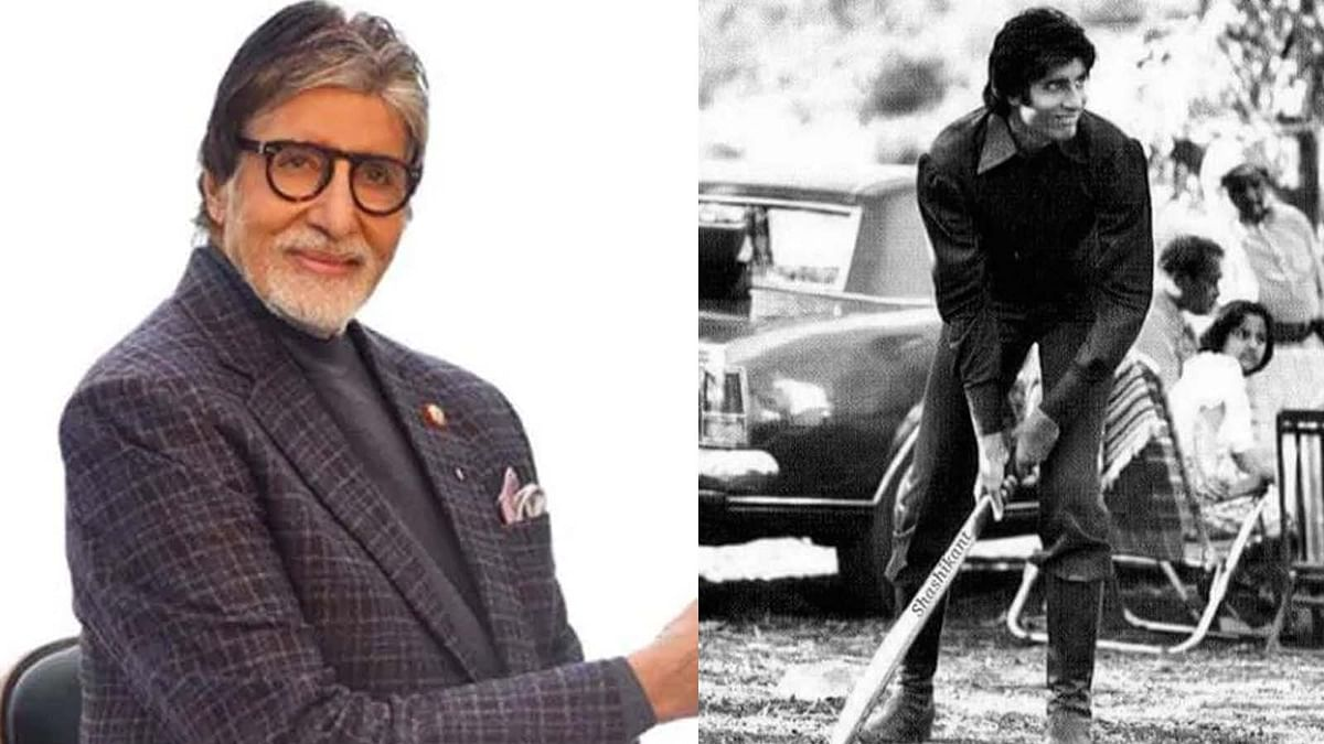 अमिताभ बच्चन ने शेयर की 'मिस्टर नटवरलाल' के सेट से थ्रोबैक फोटो, क्रिकेट खेलते आए नजर