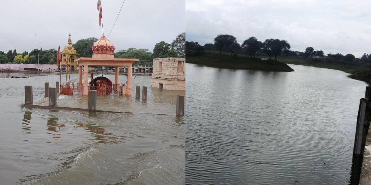 Ujjain : गंभीर मुस्कुरा उठा, लबालब पानी आया