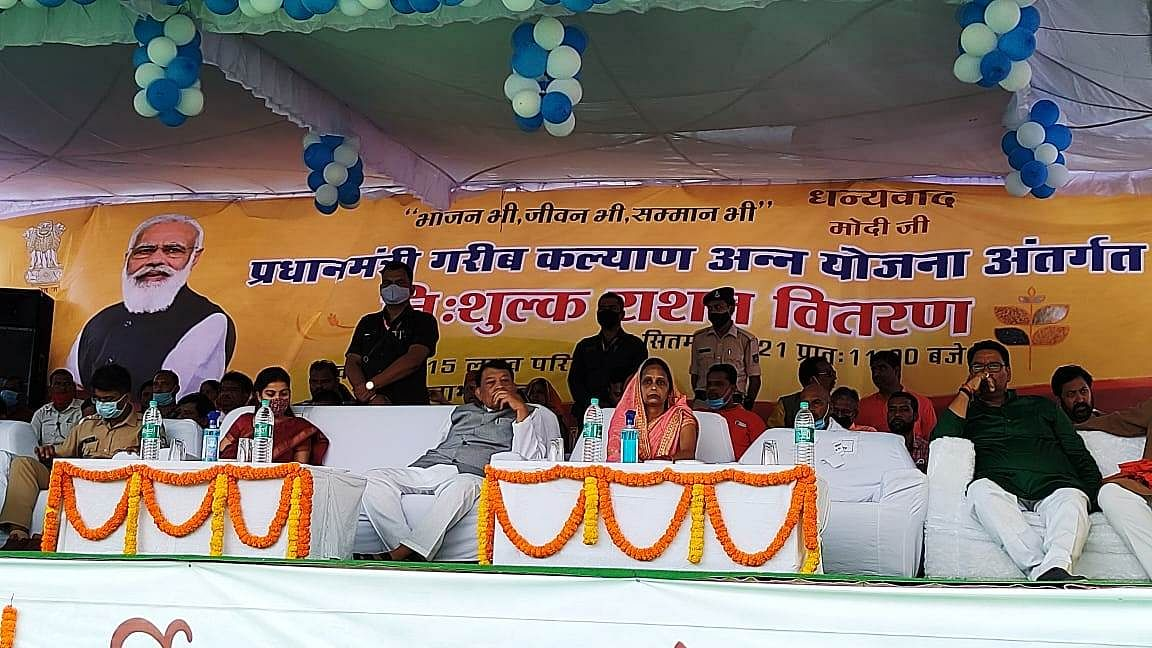 'अन्न उत्सव' गरीबों का उत्सव : खाद्य मंत्री