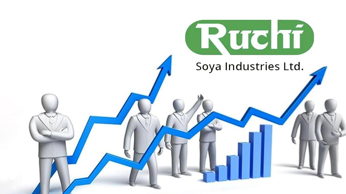 सप्ताह के पहले दिन Ruchi Soya के स्टॉक्स में उछाल