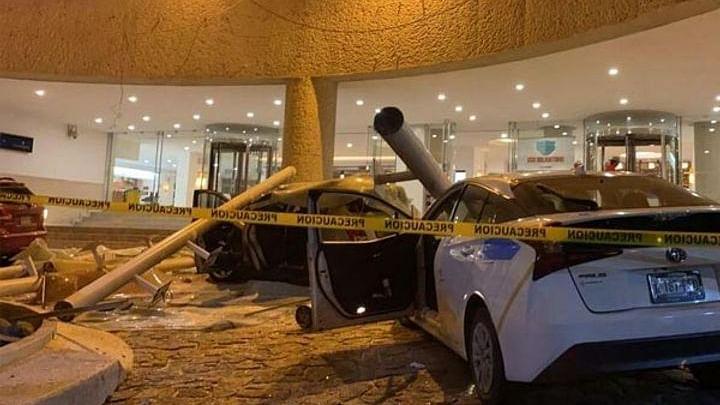 मेक्सिको में आए भयानक भूकंप से चट्टानों में आई दरार और धंसीं सड़कें