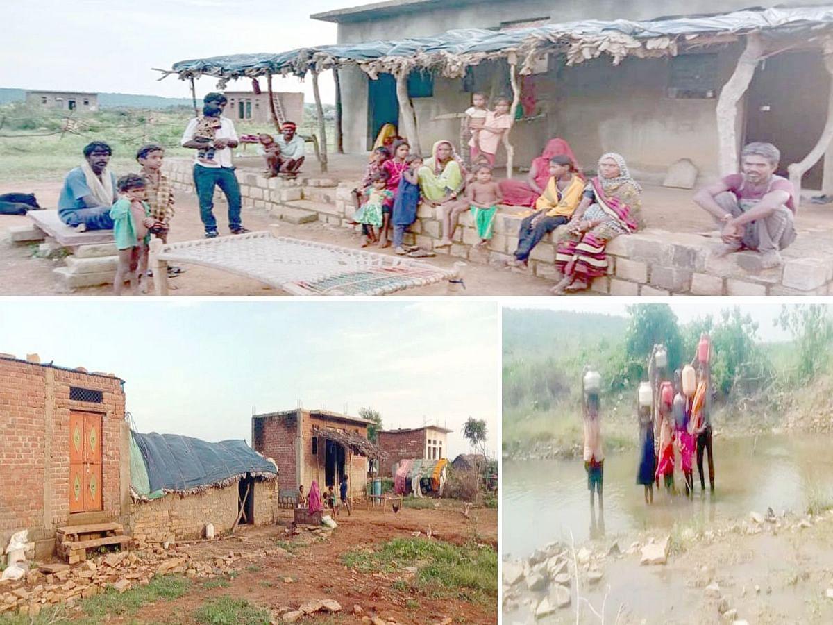 शिवपुरी: शासन की योजनाओं के धन को जिम्मेदारों ने डकारा