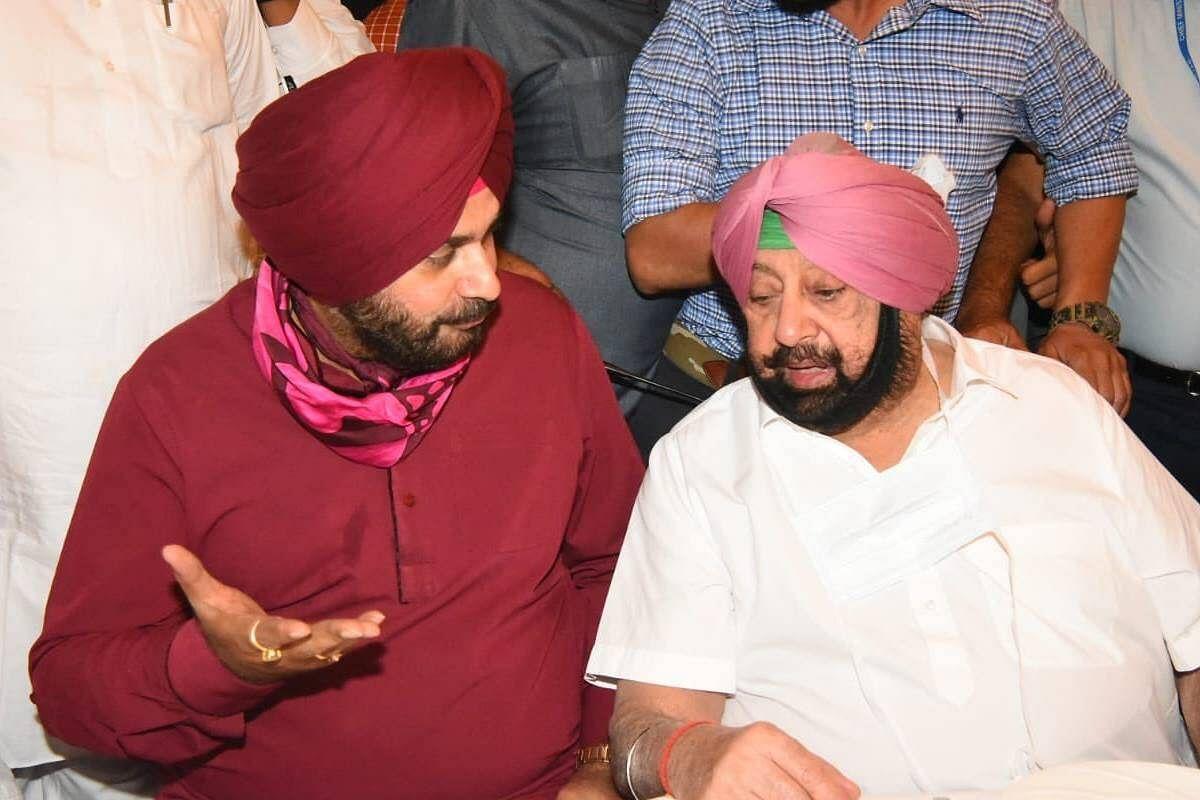 पंजाब कांग्रेस के घमासान के बीच आलाकमान ने आज बुलाई कांग्रेस विधायक दल की बैठक