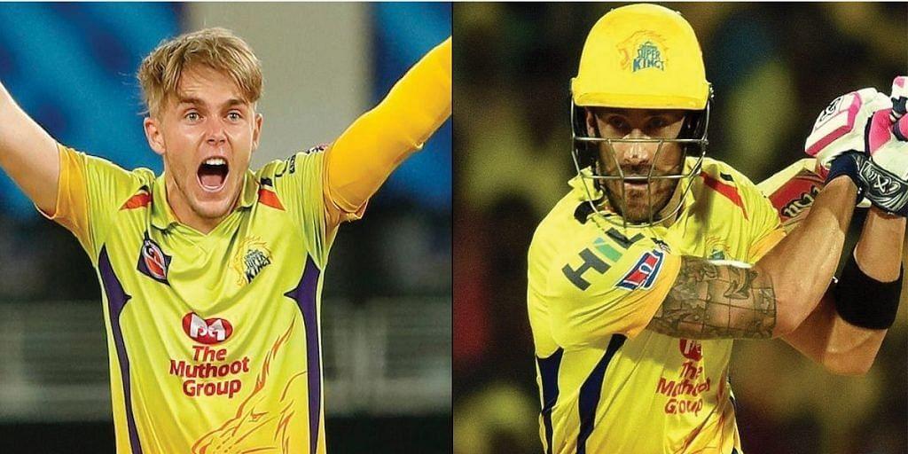 मुंबई के खिलाफ शुरुआती मैच में नहीं खेलेंगे फाफ डु प्लेसिस और सैम करन
