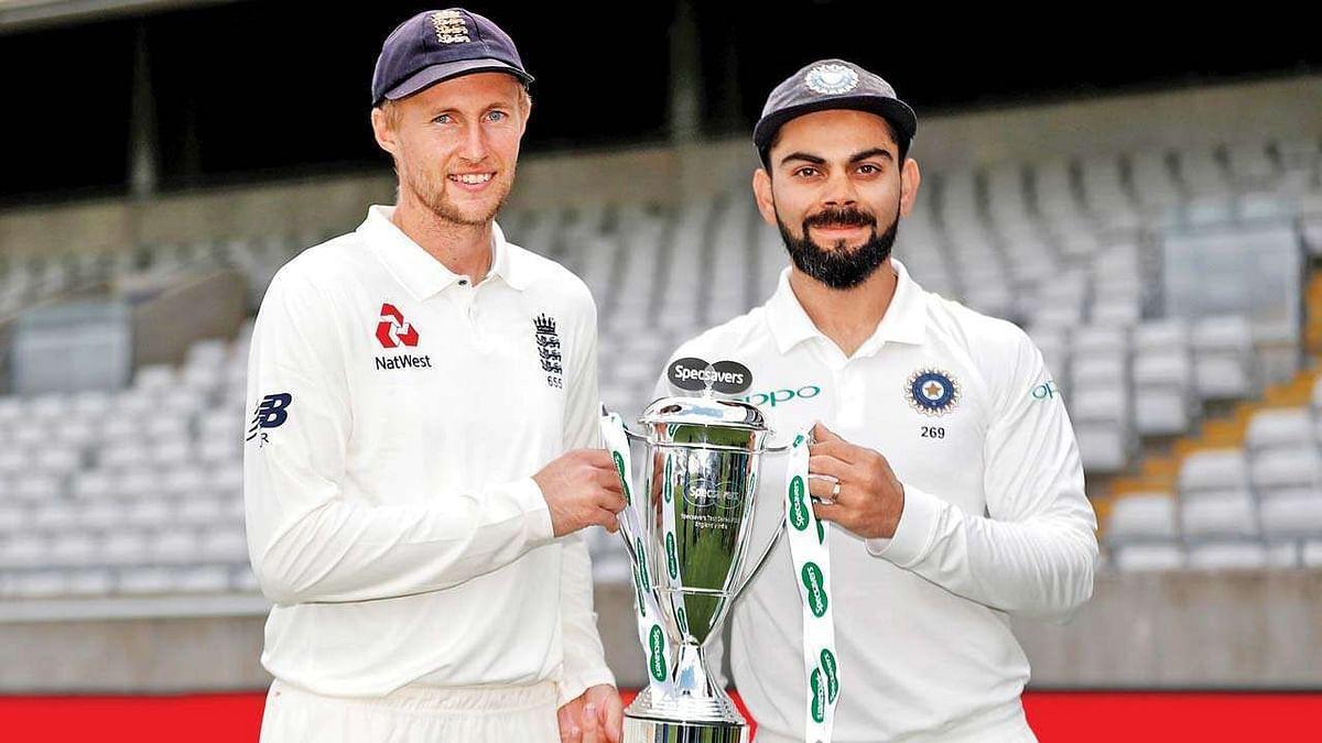 क्रिकेट : बढ़त बनाने के लिए भिड़ेंगे भारत और इंग्लैंड