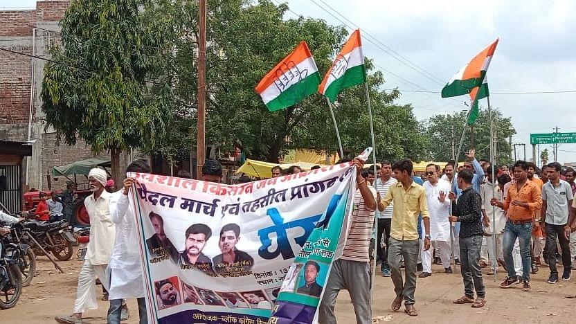 Ashoknagar : महंगाई, भ्रष्टाचार, लापरवाही पर फूटा कांग्रेस का आक्रोश