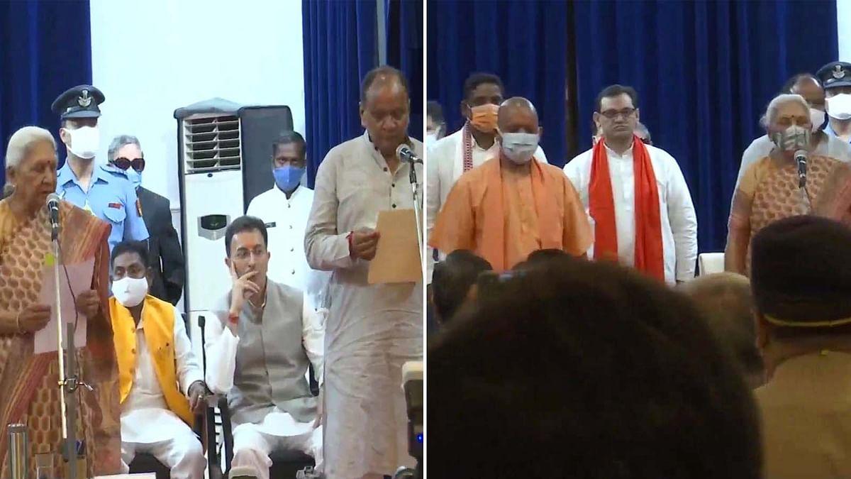 UP: योगी सरकार के कैबिनेट में विस्तार- 7 नए मंत्रियों ने ली शपथ