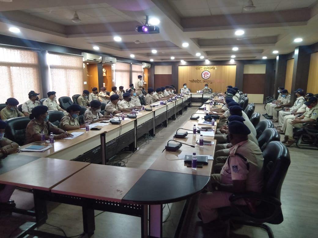 Anuppur : विवेचना की गुणवत्ता सुधारने के लिए आयोजित की गई प्रशिक्षण एवं समीक्षा बैठक