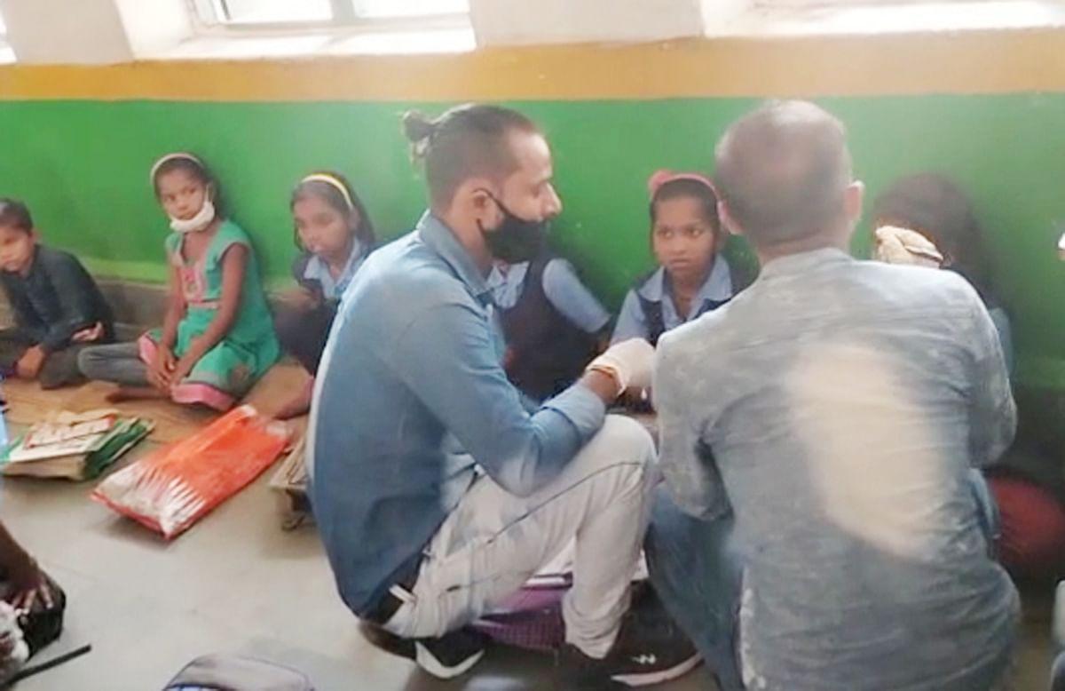 छतरपुर : तीसरी कक्षा का छात्र निकला कोरोना पॉजिटिव