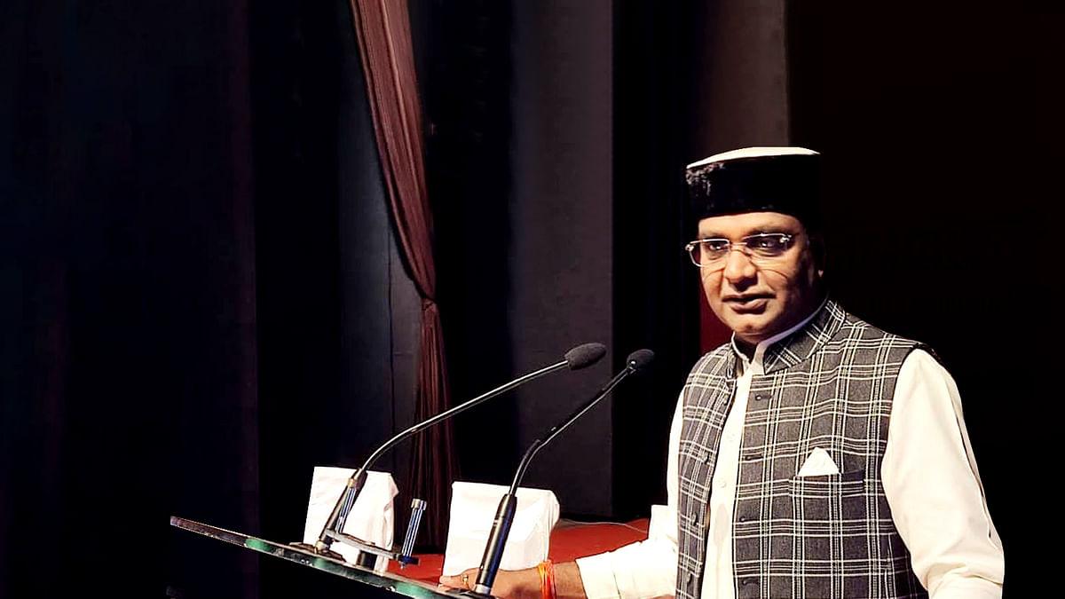 मंत्री विश्वास सारंग का बयान- विकास और कल्याण के लिए जनता चाहती है कि BJP जीते चुनाव