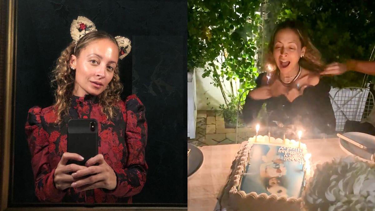 केक काटते समय हॉलीवुड एक्ट्रेस निकोल रिची के बालों में लगी आग, सामने आया वीडियो