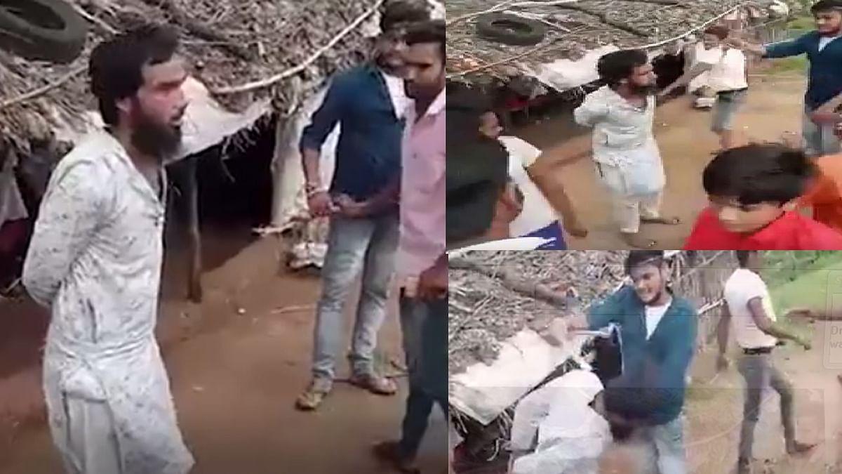 Shivpuri: रेप के आरोपी को लोगों ने पकड़ कर जमकर पीटा, किया पुलिस के हवाले