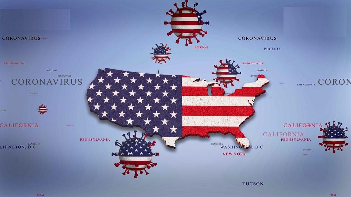 अमेरिका में कोरोना संक्रमण के मामले चार करोड़ के पार