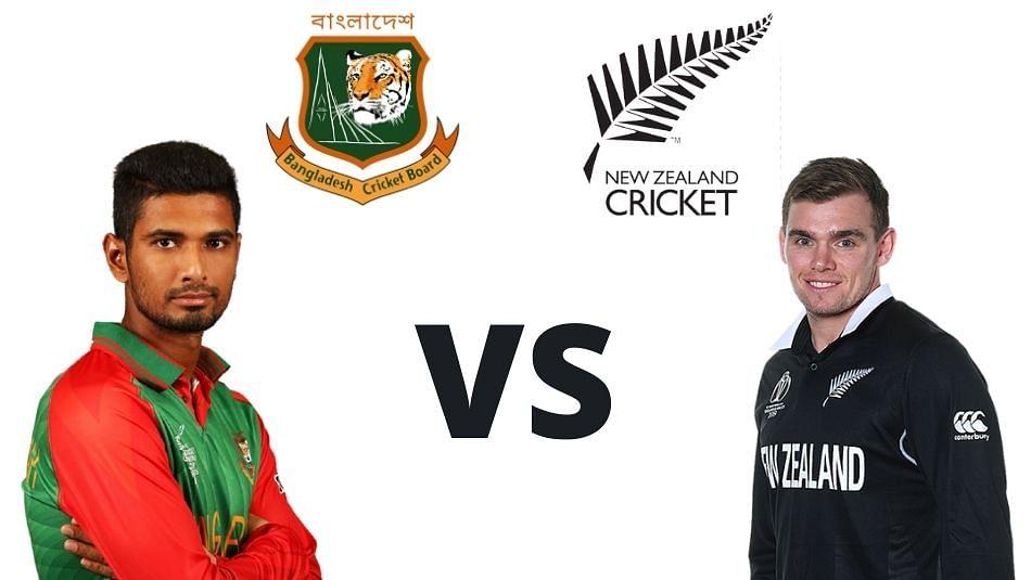 कांटे के मुकाबले में बांग्लाादेश ने न्यूजीलैंड को चार रन से हरा कर 2-0 से बनाई बढ़त