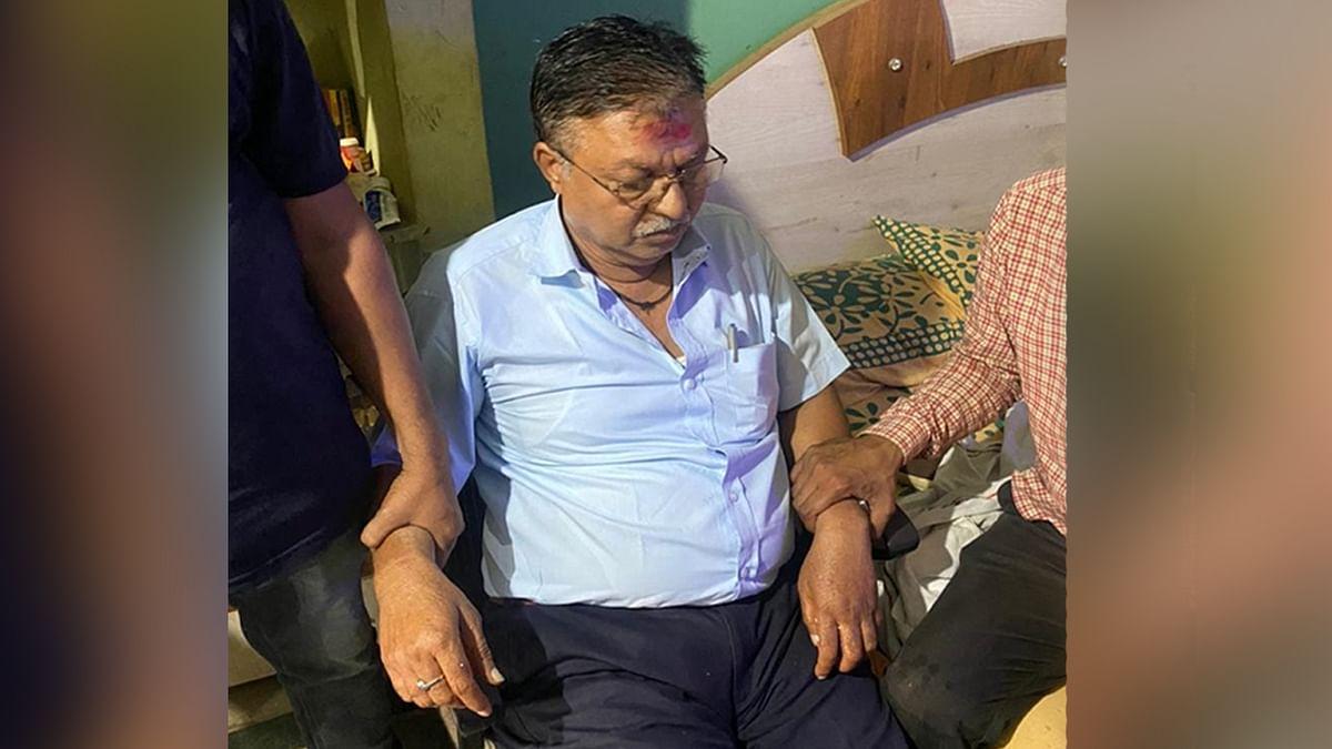 मंदसौर के मुख्य नगर पालिका अधिकारी को लोकायुक्त ने 5 हजार की रिश्वत लेते हुए पकड़ा