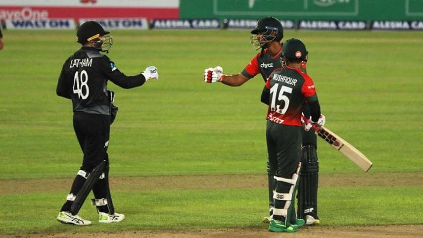 न्यूजीलैंड से पांचवां टी-20 मैच हारनेे के बावजूद बंगलादेश ने 3-2 से जीती सीरीज