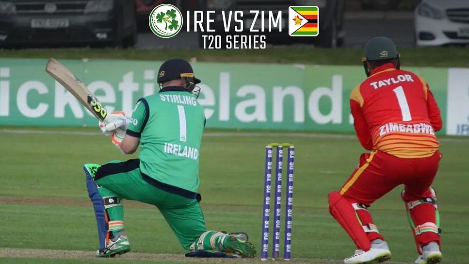 जिम्बाब्वे पर 64 रन की जीत के साथ आयरलैंड को 3-1 की अजय बढ़त