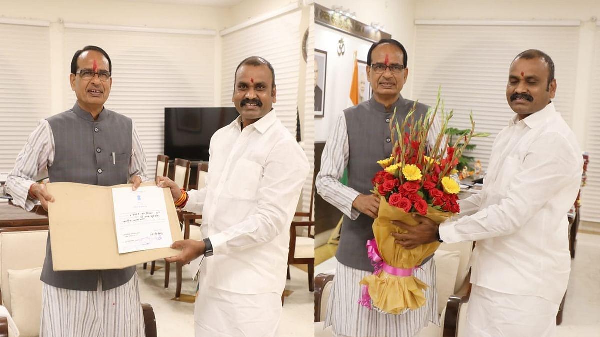 केंद्रीय मंत्री L Murugan मप्र से राज्यसभा के लिए निर्विरोध निर्वाचित, सीएम ने दी बधाई
