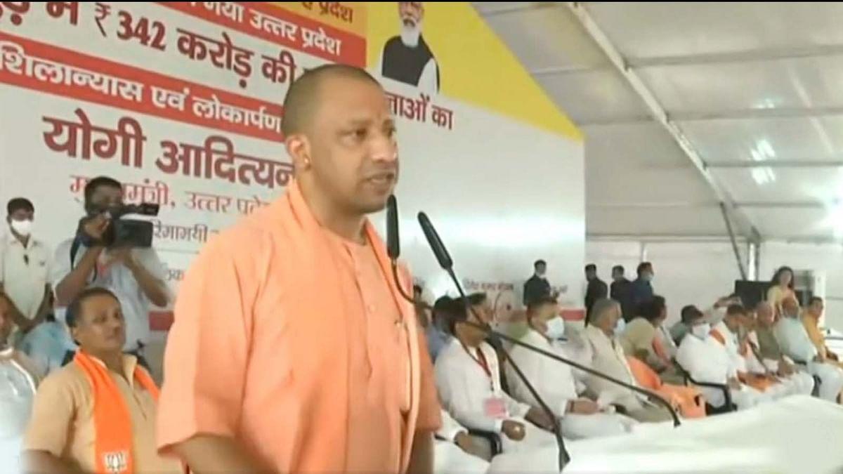 उत्तर प्रदेश के CM योगी ने करोड़ों की योजनाओं का शिलान्यास पर हापुड़ को दी सौगात
