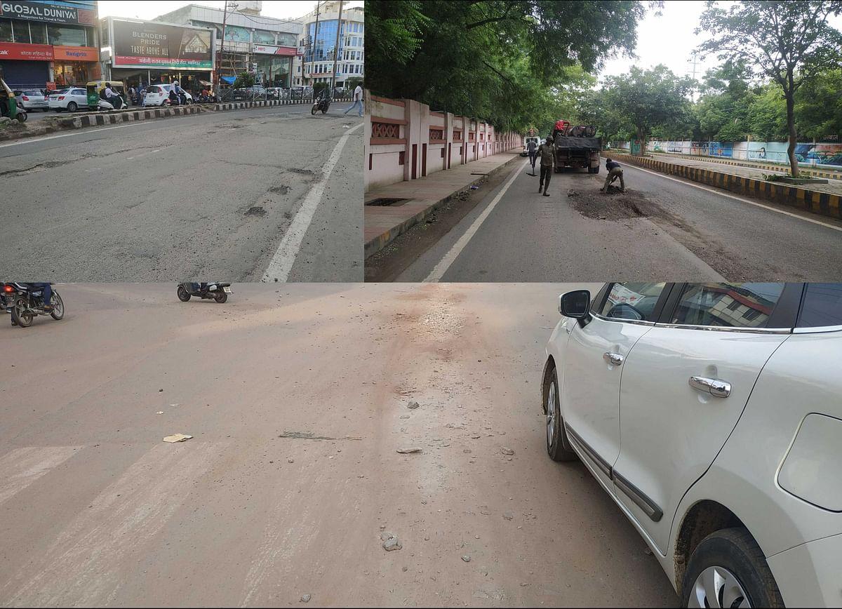 10 दिन का समय निकला, ठीक नहीं हुईं सड़कें, प्रभारी मंत्री आज करेंगे जांच