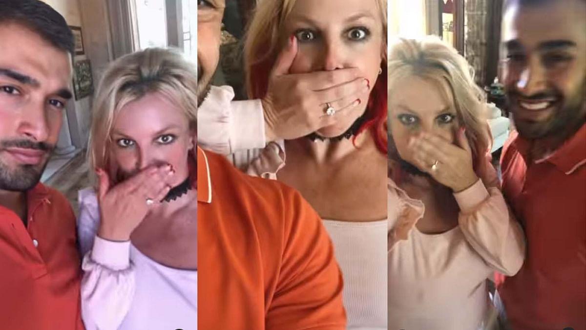 पॉप स्टार ब्रिटनी स्पीयर्स ने सैम असगरी संग की सगाई, वीडियो शेयर कर दी जानकारी