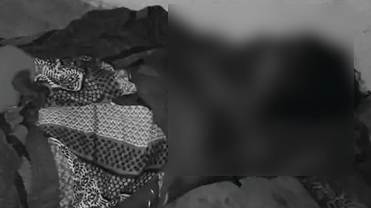 Hoshangabad: पति ने बेरहमी से की पत्नी की हत्या, जमीन पर पड़ा मिला शव