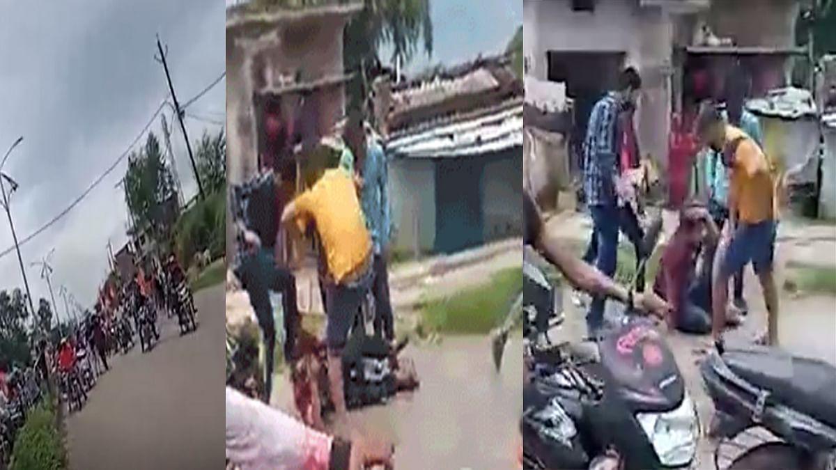 फिर बेरहमी से पिटाई का मामला, रीवा में आरोपियों ने युवक को रोड पर लात-घूंसों से पीटा