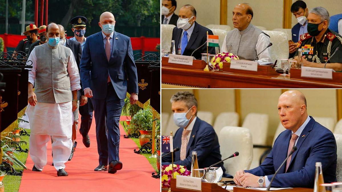 राजनाथ की ऑस्ट्रेलिया रक्षा मंत्री के साथ द्विपक्षीय बैठक में इन मुद्दों पर हुई चर्चा
