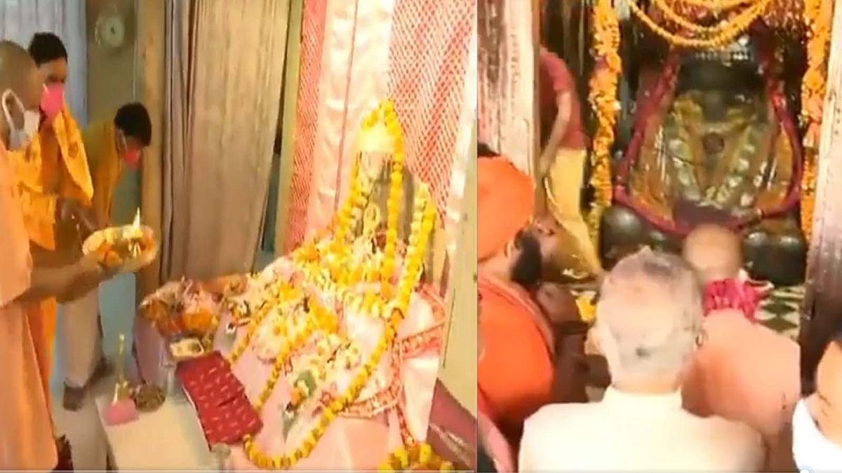 अयोध्या में CM योगी ने हनुमानगढ़ी और रामलला के दर्शन कर आशीर्वाद प्राप्त किया