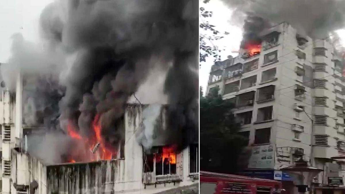 महाराष्ट्र: मुंबई के बोरीवली में एक इमारत की 7वीं मंजिल में भीषण आग का तहलका