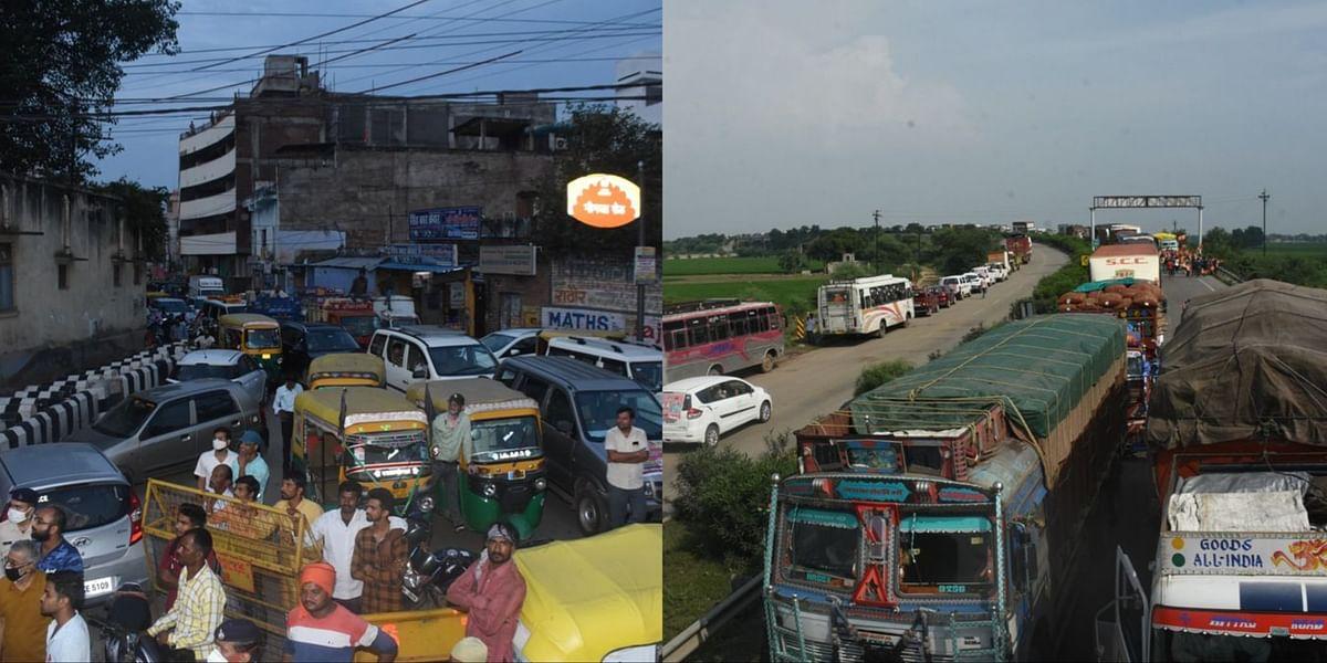 Gwalior : व्यवस्थाएं हुईं फेल, हाईवे से लेकर शहर तक हर तरफ लगा जाम