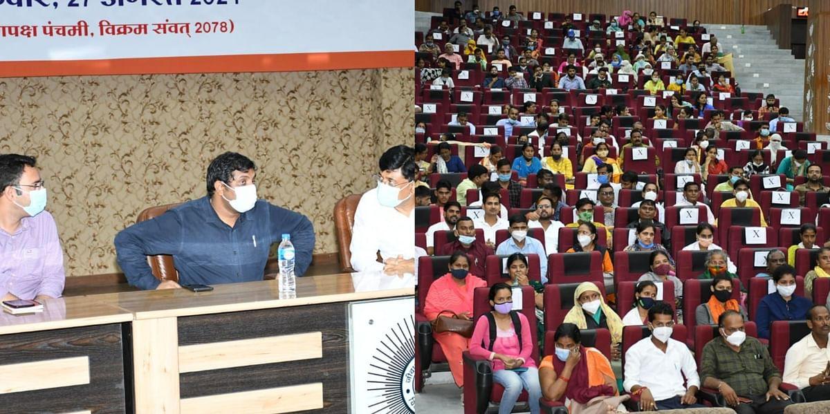 Gwalior : वैक्सीनेशन महा अभियान की तैयारी में लापरवाही पर भड़के कलेक्टर