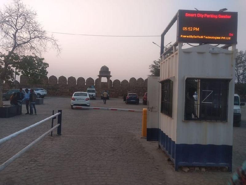 स्मार्ट सिटी ने नगर निगम को हैण्डओवर की पार्किंग