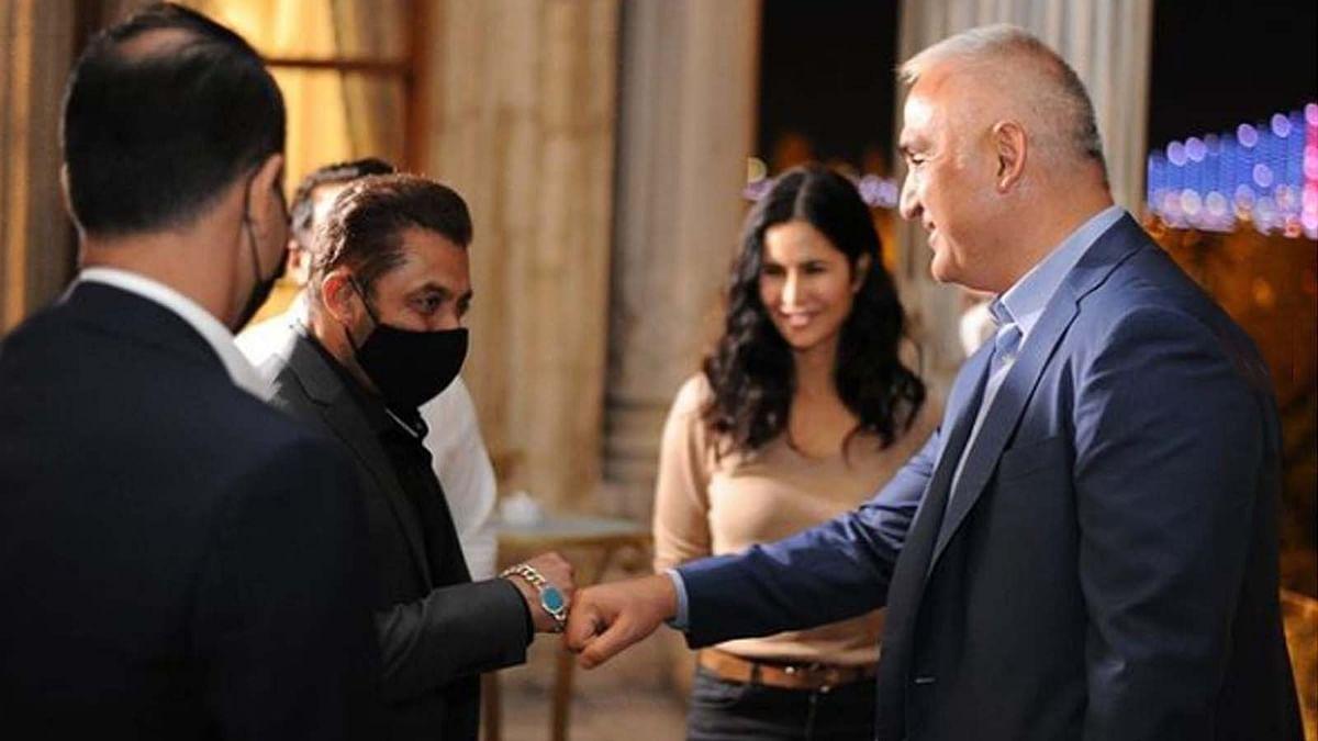 सलमान खान और कैटरीना कैफ ने की तुर्की के मंत्री से मुलाकात, वायरल हुईं तस्वीरें