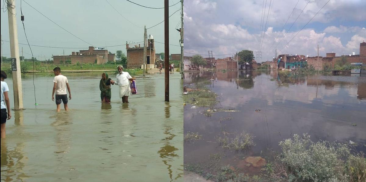 Dabra : बरसाती नाले उफान पर शहर की कई बस्तियां हुईं जलमग्न