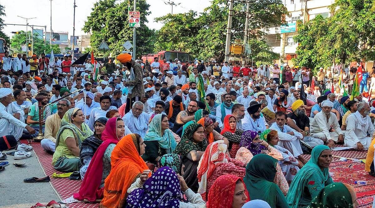 किसान आंदोलन से दिक्कतों पर मानवाधिकार आयोग का दिल्ली, हरियाणा और उत्तर प्रदेश को नोटिस