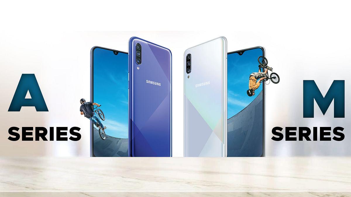 Samsung के Galaxy A और M सीरीज़ के स्मार्टफोन में आ रही खराबी