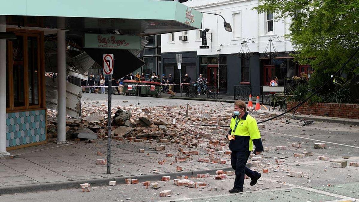 ऑस्ट्रेलिया के मेलबर्न शहर में भूकंप ने मचाई उथल-पुथल