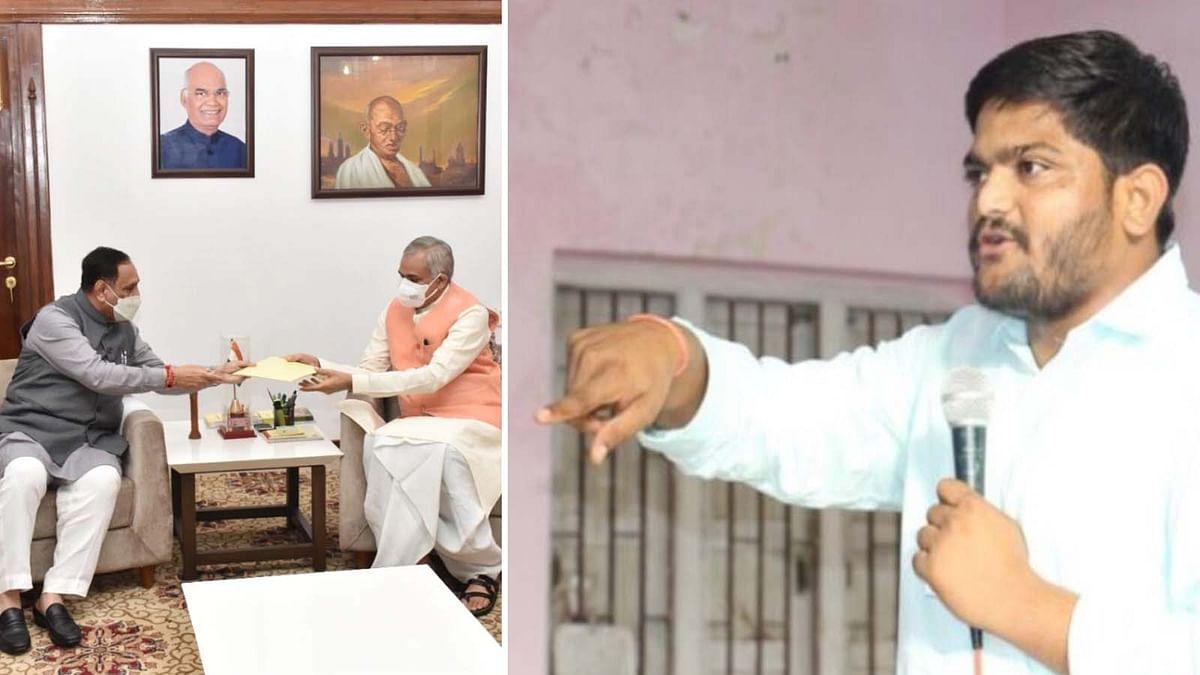 गुजरात CM के इस्तीफे पर कांग्रेस नेता पटेल का हमला- BJP नाकामी छिपाने यह सब कर रही