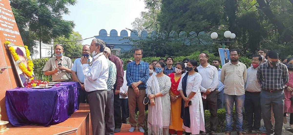 विदिशा : एसएटीआई में मनाई माधवराव सिंधिया की 20 वीं पुण्यतिथि